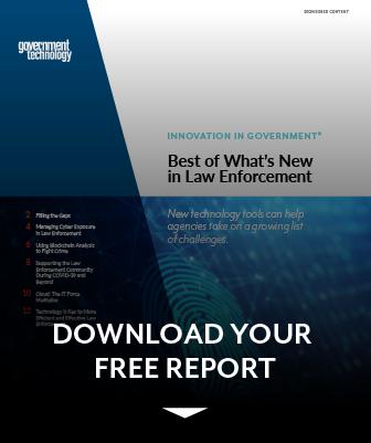 Law Enforcement Report preview