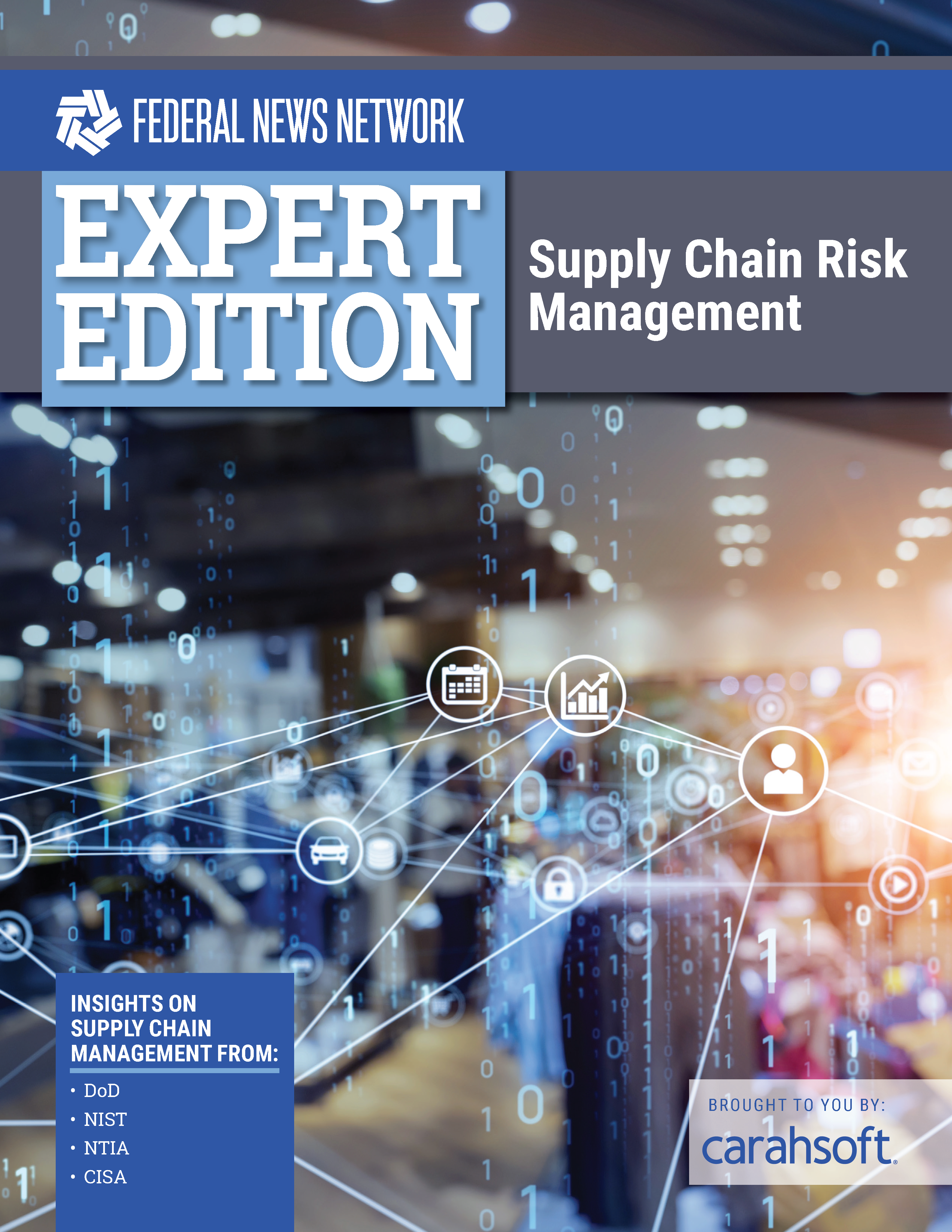 Expert Edition supply chain risk management report cover
