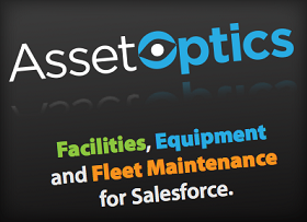AssetOptics Salesforce side bar