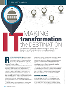 GCN Article: Making IT Transformation the Destination