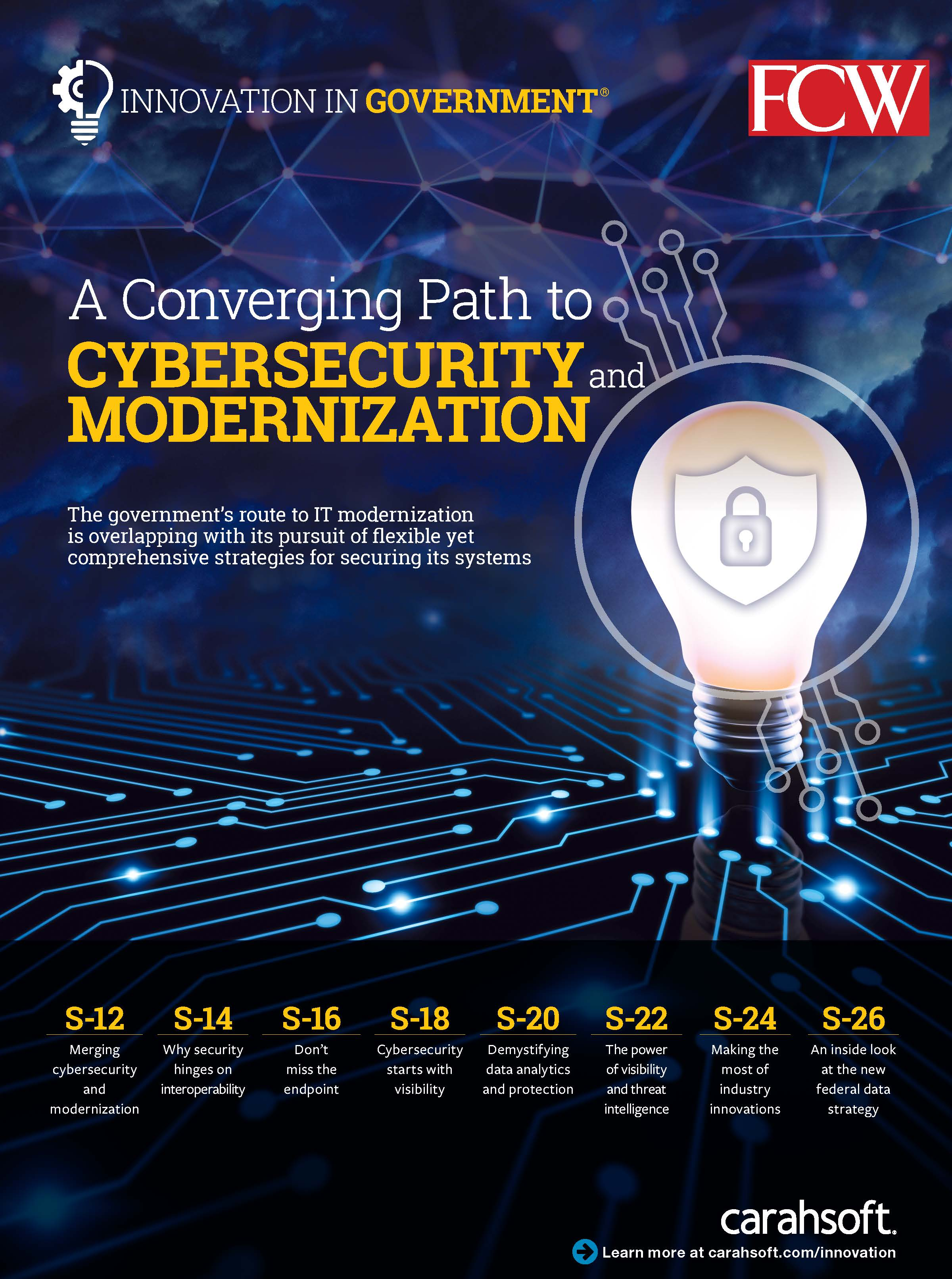FCW IIG Emerging Cybersecurity Report cover