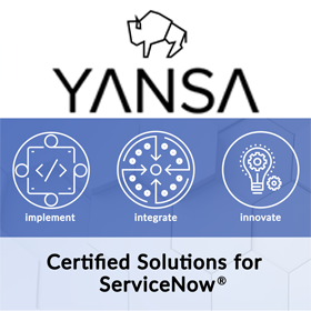 Yansa Labs Solutions for ServiceNow