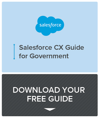 Salesforce CX Guide for Government preview