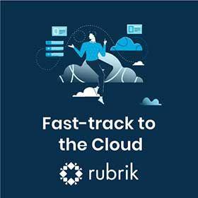 Rubrik Fast-track the Cloud sidebar