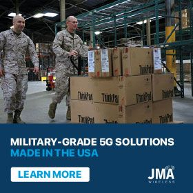 Military-Grade 5G Solutions from JMA Wireless