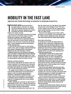 Mobile in the Fast Lane Article