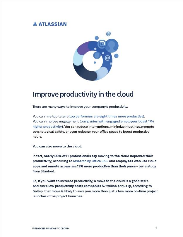 Atlassian Cloud Productivity eBook