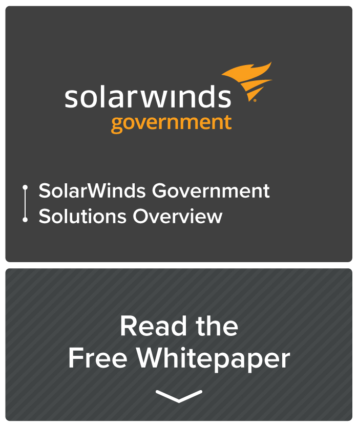 Resource callout - SolarWinds government solutions white paper