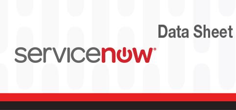 Carahsoft :: ServiceNow Incident Management Datasheet