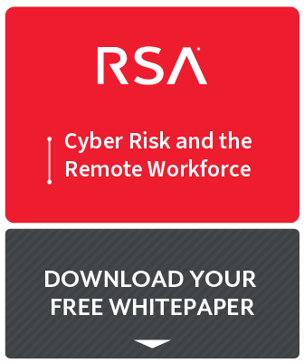 RSA Cyber Risk and the Remote Workforce report preview