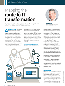 GCN Article: Mapping the Route to IT Transformation