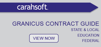 Granicus SLED Contract Guide sidebar