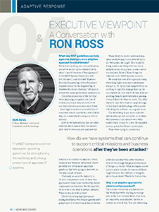 Executive Viewpoint: A Conversation with Ron Ross