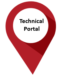 Technical Portal pin drop