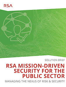 Resource: RSA Mission-Driven Security for the Public Sector