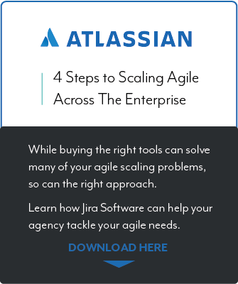Atlassian 4 Steps to Scaling Agile resource callout