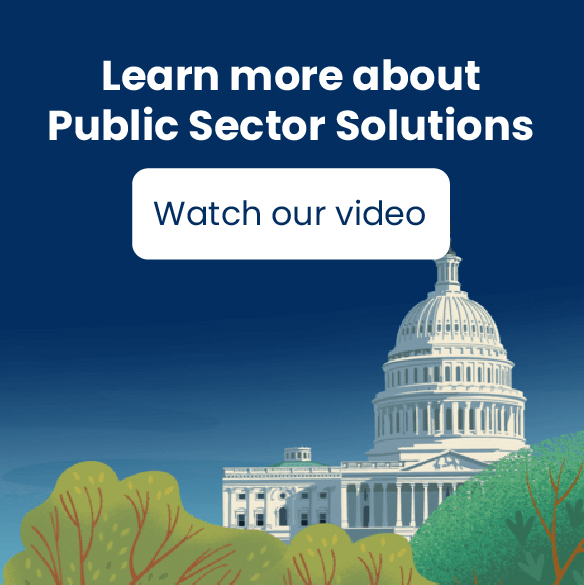 Salesforce public sector solutions video