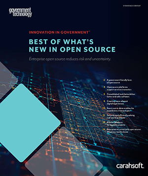GovTech Open Source report cover