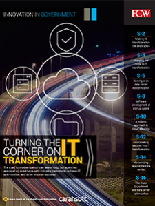GCN Full Report: Turning the Corner on IT Transformation