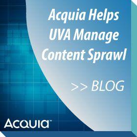 Acquia Helps UVA Manage Content Sprawl article